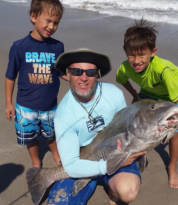 Little boy big fish fishbites for Vero beach fishing report