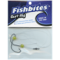 Fishbites® Surf Rigs - Chartreuse Khale Hook Bead Rig