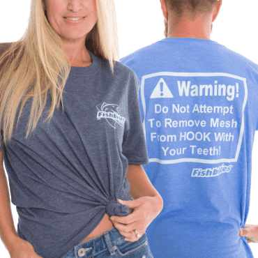 "Fishbites® ""WARNING"" Shirt"