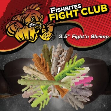 "Fishbites 3.5"" Fight'n Shrimp"