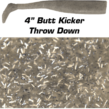 "4"" Butt Kicker  Throw Down"