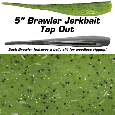 "5"" Brawler Tap Out"
