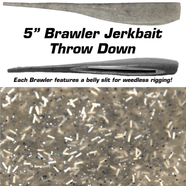 "5"" Brawler Throw Down"