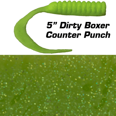 "5"" Dirty Boxer  Counter Punch"