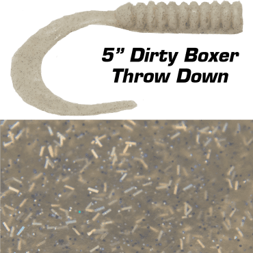 "5"" Dirty Boxer Throw Down"