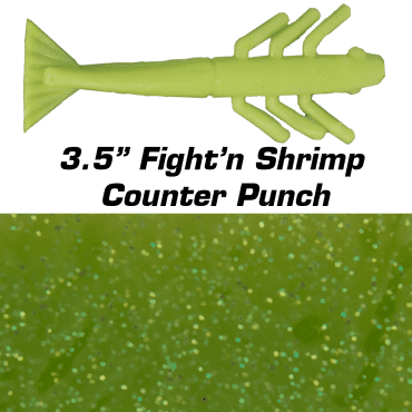 "3.5"" Fight'n Shrimp Counter Punch"