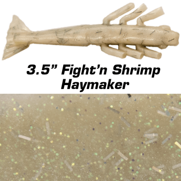 "3.5"" Fight'n Shrimp Haymaker"