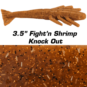 "3.5"" Fight'n Shrimp Knock Out"