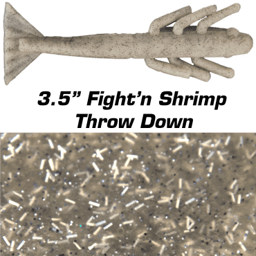 "3.5"" Fight'n Shrimp Throw Down"