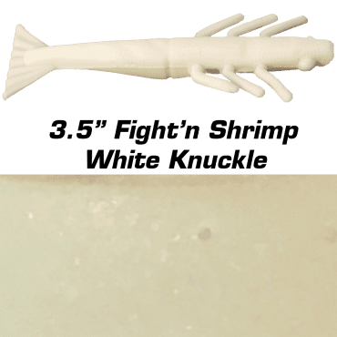"3.5"" Fight'n Shrimp White Knuckle"