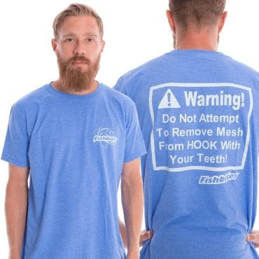 """Fishbites® """"WARNING"""" Shirt"""