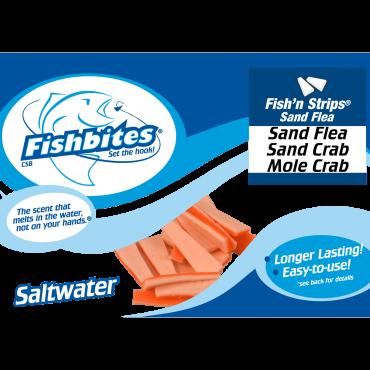 Fishbites Fish'n Strips® Sand Flea, Mole Crab, Sand Crab