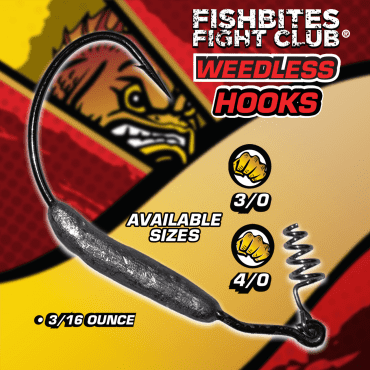 Fishbites Fight Club® Weedless Hooks