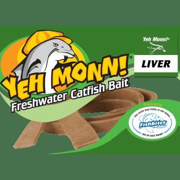 Fishbites – Yeh Monn!® Freshwater Catfish Bait - Liver