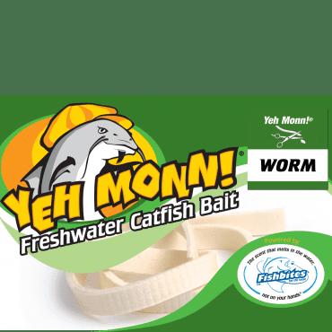 Fishbites – Yeh Monn!® Freshwater Catfish Bait - Worm