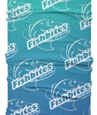 Fishbites Face Cover Blue